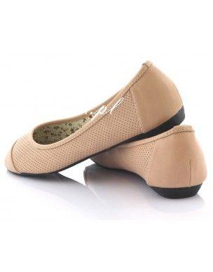 Baletki, balerinki Dziurki Pink Y6623A 2