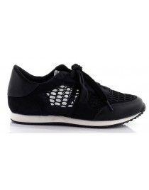 Czarne buty sportowe z siateczką T-5