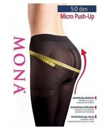 MONA MICRO PUSH-UP 50 den