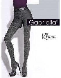 GABRIELLA Klara 324 Rajstopy wzorzyste