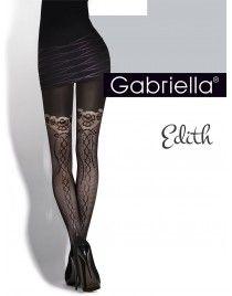 GABRIELLA Edith 321 Rajstopy z imitacją wiązania z tyłu