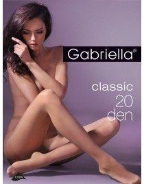 Classic 20 Gabriella Rajstopy 20 den LYCRA