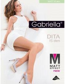 Matowe rajstopy 15 den Matt Effect 15 den Dita Gabriella