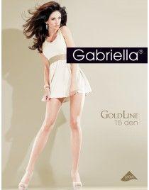 Gold line 15 Gabriella Rajstopy jedwabiste i trwałe