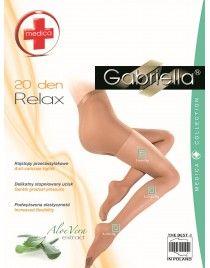 Relax 20 Gabriella Medica Rajstopy przeciwżylakowe