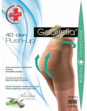 Push up 40 den Gabriella rajstopy 2
