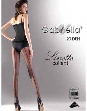 Linette 20 Gabriella Rajstopy ze szwem 2