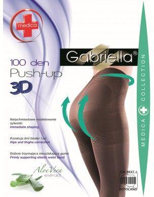 Medica Push up 100 den GABRIELLA rajstopy 2