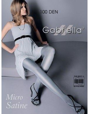 Micro satine 100 den GABRIELLA rajstopy 2