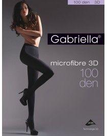 Microfibre 100 3D GABRIELLA Rajstopy z mikrofibry