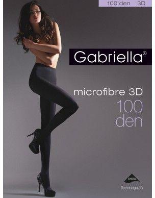 Microfibre 100 3D GABRIELLA rajstopy 2