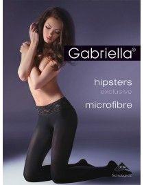 Exclusive Hipsters mikrofibra GABRIELLA seksowna koronka