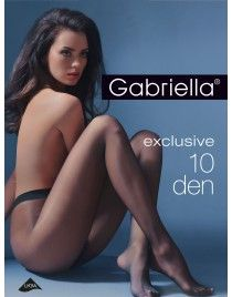 Exclusive T-band 10 den GABRIELLA Cienkie rajstopy