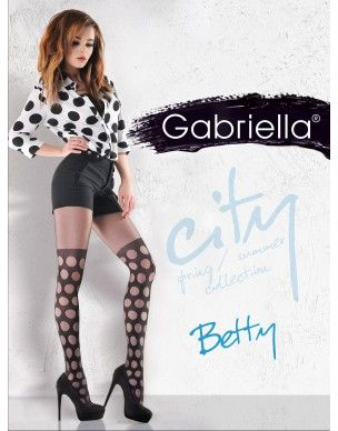 Betty 795 GABRIELLA punk rajstopy 2
