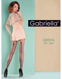 Rajstopy Verita 650 ze szwem we wzory GABRIELLA