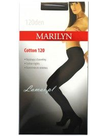 Cotton 120 den MARILYN rajstopy