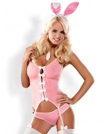 Kostium króliczka Bunny suit 4-częściowy Obsessive
