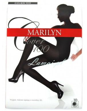 Cover 100 den MARILYN mikrofibra 3d rajstopy 2