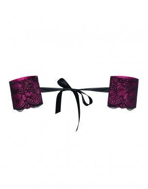 Różowe Kajdanki koronkowe Roseberry Obsessive 2