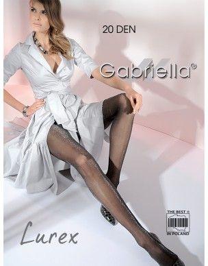 Lurex 20 den GABRIELLA rajstopy 2