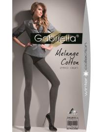 Melange Cotton 250 den rajstopy GABRIELLA bawełniane