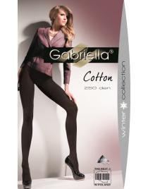 Cotton 250 den GABRIELLA rajstopy