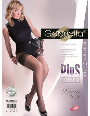 Xenia Plus Size 15 den GABRIELLA rajstopy 2