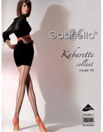Kabarette Collant 155 ze szwem Gabriella rajstopy
