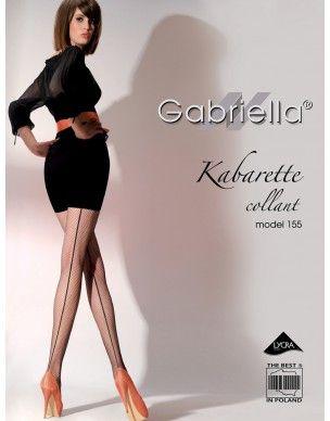 Kabarette Collant 155 ze szwem Gabriella rajstopy 2