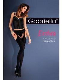 Strip panty Microfibre Rajstopy z wycięciem Gabriella