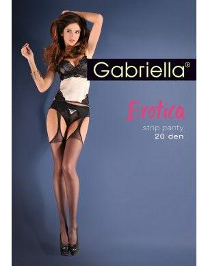 StripPanty Classic 15 den Gabriella rajstopy 2