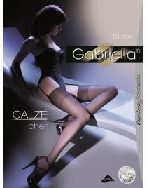 Calze Cher 15 den Pończochy do paska Gabriella