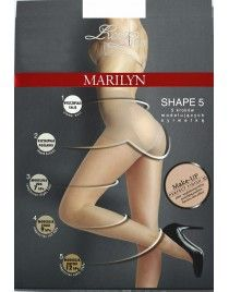 Shape 5 30 den LUX LINE MARILYN Exclusive rajstopy