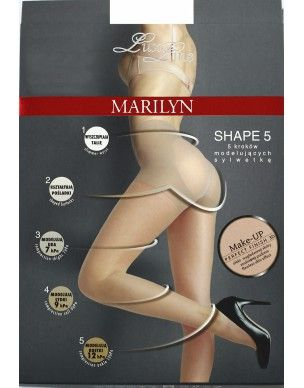 Shape 5 30 den LUX LINE MARILYN Exclusive rajstopy 2