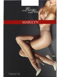 Naked 40 den Rajstopy Exclusive LUX LINE MARILYN