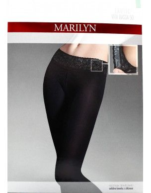 EroticVitaBassa 50 den MARILYN mikrofibra rajstopy 2