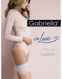 Isabelle 472 PLUS SIZE 5/6 Gabriella pończochy samonośne do ślubu