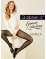Emma 418 GABRIELLA rajstopy w czarne paski 3