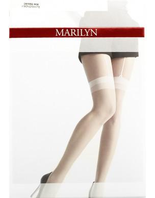 Desire M06 MARILYN rajstopy imitujące białe pończochy 2